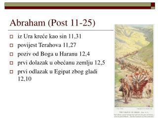 Abraham (Post 11-25)