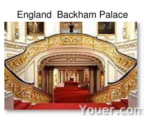 England  Backham Palace
