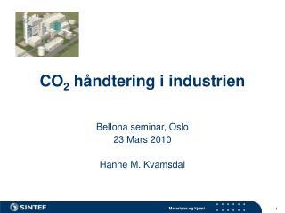 CO 2  håndtering i industrien
