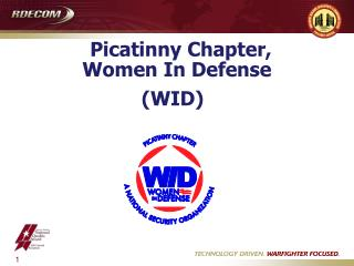 Picatinny Chapter,  Women In Defense (WID)