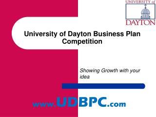 University of Dayton Business Plan Competition