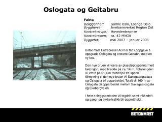 Oslogata og Geitabru