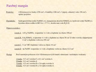 Farebný mangán