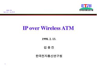 IP over Wireless ATM