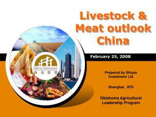 Livestock & Meat outlook China
