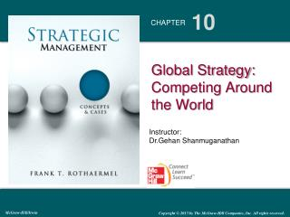 Global Strategy: Competing Around the World