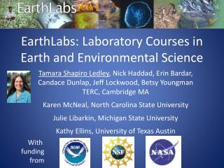 EarthLabs : Laboratory Courses in Earth and Environmental Science