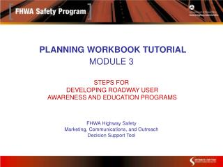 The Planning Workbook is designed to help you