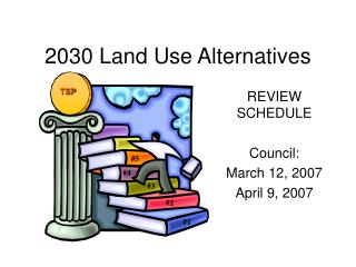 2030 Land Use Alternatives