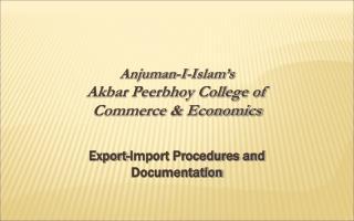 Anjuman-I-Islam's Akbar Peerbhoy College of  Commerce & Economics