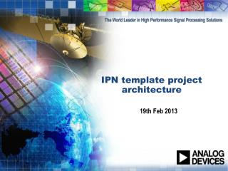 IPN template project  architecture