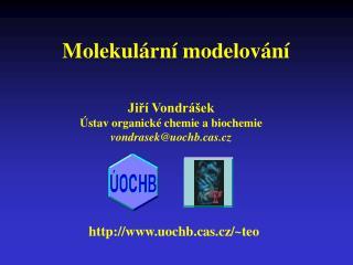 Molekul ární modelování