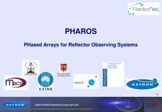 PHAROS PHased Arrays for Reflector Observing Systems
