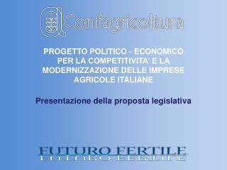 Presentazione della proposta legislativa