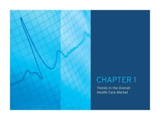 TABLE OF CONTENTS CHAPTER 1.0: 	 Trends in the Overall Health Care Market