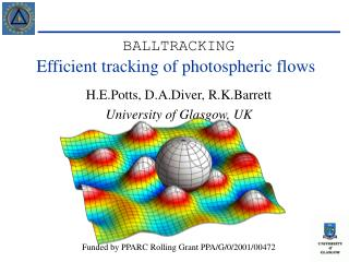 Efficient tracking of photospheric flows