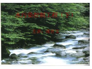 水污染控制工程(下) 主讲:成官文