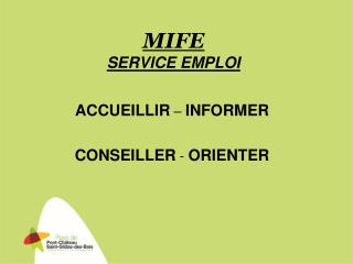 MIFE SERVICE EMPLOI