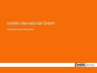 mobileternational GmbH