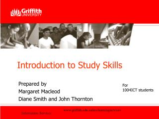 Introduction to Study Skills