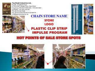 PLASTIC CLIP STRIP IMPULSE PROGRAM