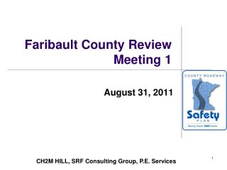 Faribault County Review Meeting 1