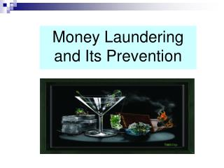 Money Laundering and Its Prevention
