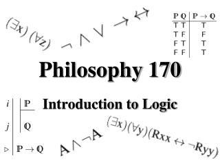 Philosophy 170