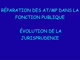 R PARATION DES AT
