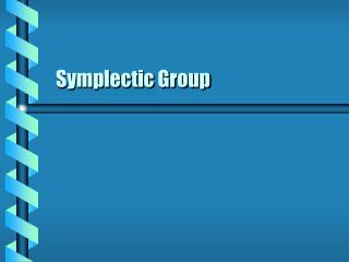 Symplectic Group
