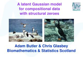 A latent Gaussian model  for compositional data  with structural zeroes