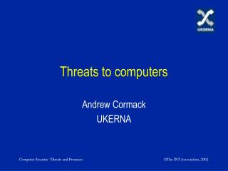 Threats to computers
