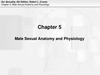 Chapter 5 Male Sexual Anatomy and Physiology