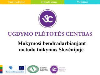 Mokymosi bendradarbiaujant  metodo taikymas Slovėnijoje