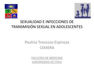 SEXUALIDAD E INFECCIONES DE TRANSMISIÓN SEXUAL EN ADOLESCENTES