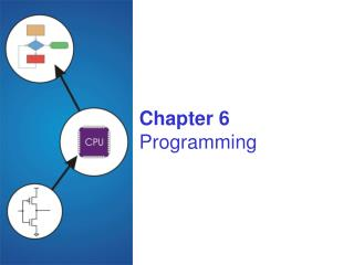 Chapter 6 Programming
