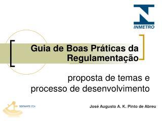 Guia de Boas Práticas da Regulamentação