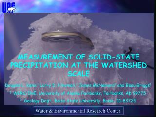 Water & Environmental Research Center