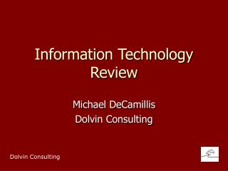 Information Technology Review