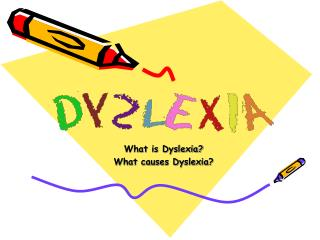 What is Dyslexia? What causes Dyslexia?