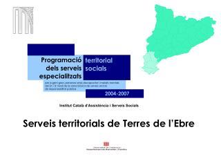 Serveis territorials de Terres de l'Ebre