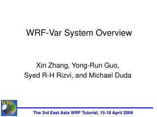 WRF-Var System Overview