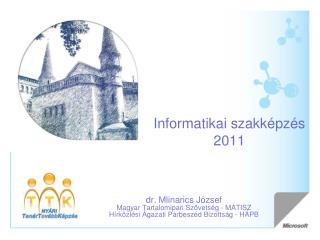 Informatikai szakképzés 2011