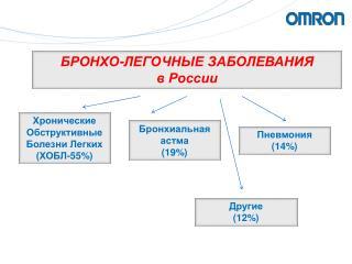 БРОНХО-ЛЕГОЧНЫЕ ЗАБОЛЕВАНИЯ  в России