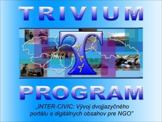 """""""INTER-CIVIC: Vývoj dvojjazyčného portálu a digitálnych obsahov pre NGO"""""""