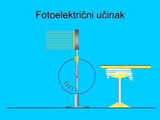 Fotoelektrični učinak