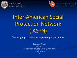 Inter-American Social Protection Network IASPN
