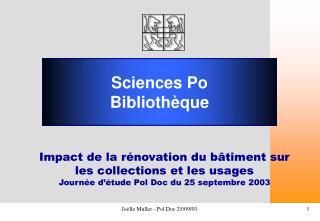 Sciences Po Bibliothèque