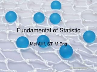 Fundamental of Statistic