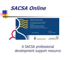 SACSA Online